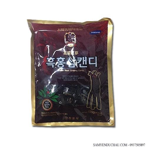 TPCN:Kẹo hắc hồng sâm 170g Hàn Quốc