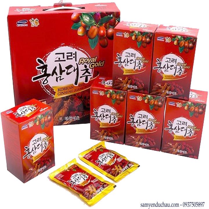 TPCN:Tinh chất hồng sâm táo đỏ Kanghwa Royal Gold