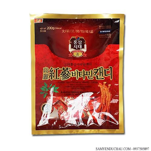 TPCN:Kẹo hồng sâm 200g Hàn Quốc