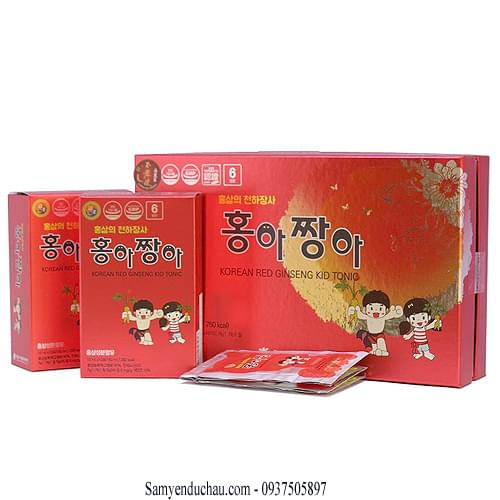 TPCN: Dịch Chiết Hồng Sâm Hàn Quốc Baby Kids