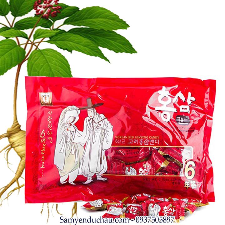 TPCN: Kẹo hồng sâm ông bà lão 200gr