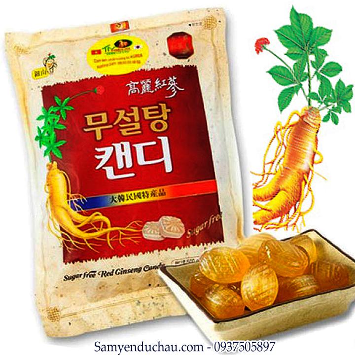 TPCN:Kẹo Hồng Sâm không đường 200 gr