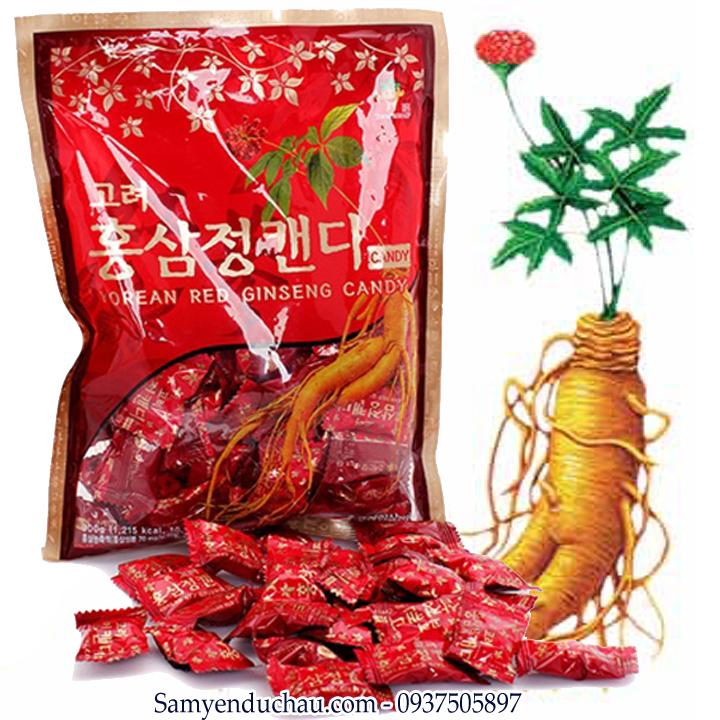 TPCN: Kẹo Hồng Sâm KGS 300gr cao cấp