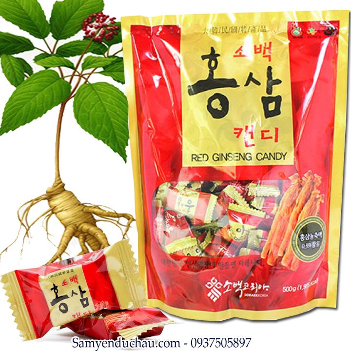 TPCN:  Kẹo Hồng Sâm Sobaek 200gr 6 năm tuổi