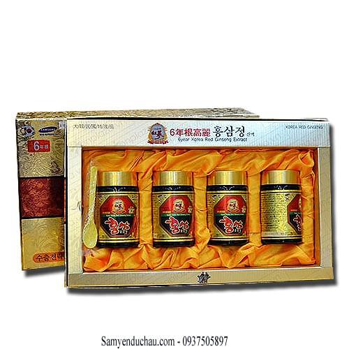 TPCN: Cao hồng sâm mật ong IRE HÀN QUỐC 4 lọ x 250g