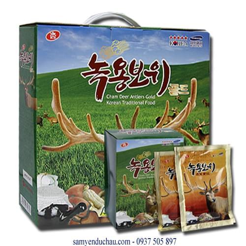 TPCN: Tinh chất nhung hươu Hàn Quốc cao cấp