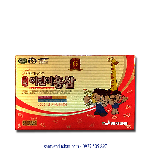 TPCN: Hồng Sâm Baby Gold Kids Dongseo Pharm(NCX29)