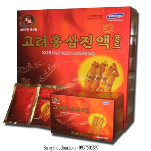 TPCN: Nước Tinh Chất Hồng Sâm KANGHWA Hàn Quốc 30 gói