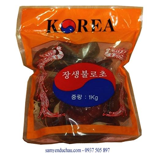 TPCN: Nấm linh chi núi đá (vỏ mầu cam) (NAM9)