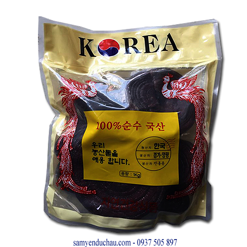 TPCN: Nấm Linh Chi Núi Hàn Quốc Tai Nhỏ  (NAM14)