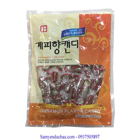 Kẹo Quế Hàn Quốc 300 gr