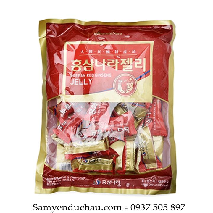 TPCN: Kẹo Hồng Sâm Dẻo KGS Hàn Quốc thượng hạng 280g