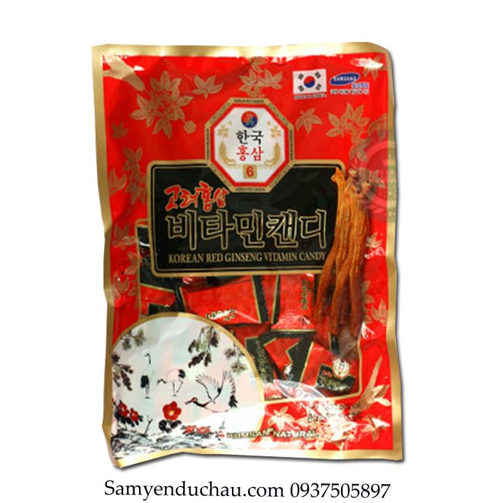 TPCN:Kẹo Hồng Sâm Vitamin Kumsan Hàn Quốc 200gr
