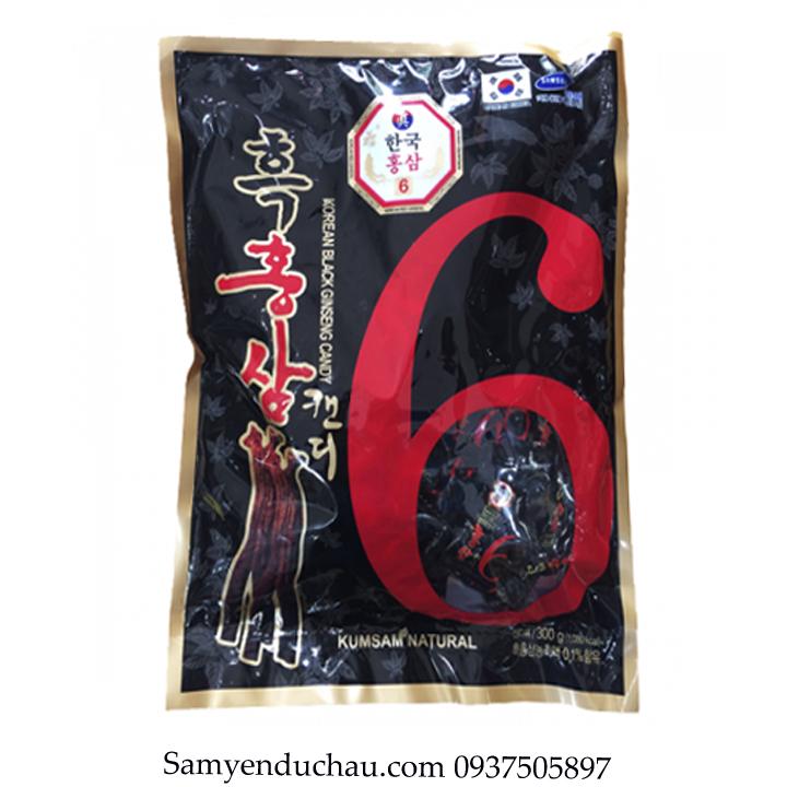TPCN:Kẹo Hắc Sâm Vitamin Kumsan Hàn Quốc 300gr