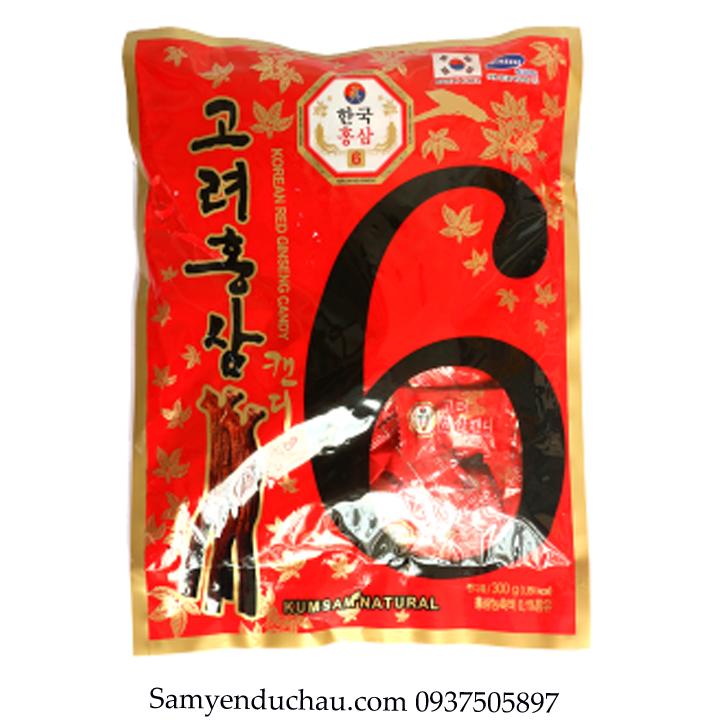 TPCN:Kẹo Hồng Sâm Vitamin Kumsan Hàn Quốc 300gr