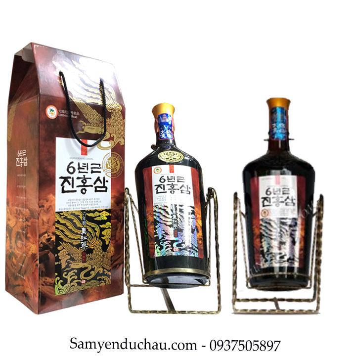 TPCN:Nước Hồng Sâm Hàn Quốc Teawoong Chai 3 Lít