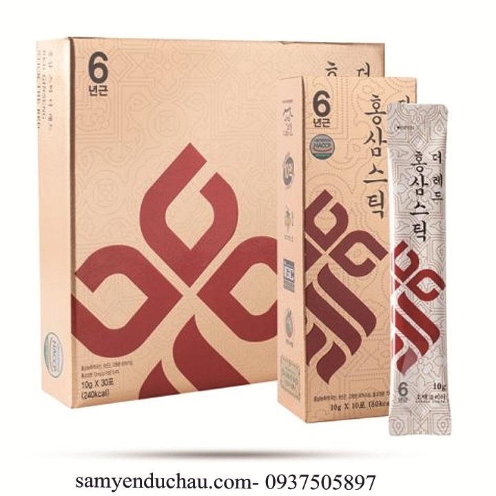 TPCN:Tinh Chất Hồng Sâm Cô Đặc Sobaek (10 ml/gói x 30 gói)
