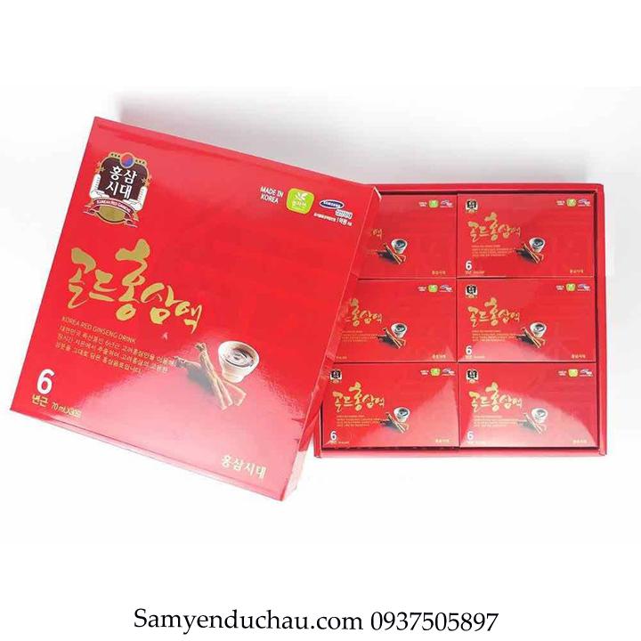 TPCN:Tinh chất hồng sâm Hàn Quốc DAEYOUNG hộp 30 gói x 70 ml