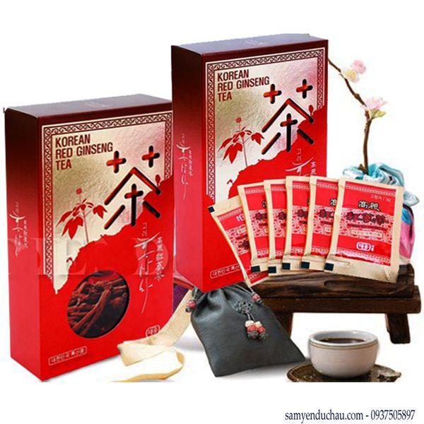 TPCN:Trà Hồng Sâm Hàn Quốc Teawoong Food