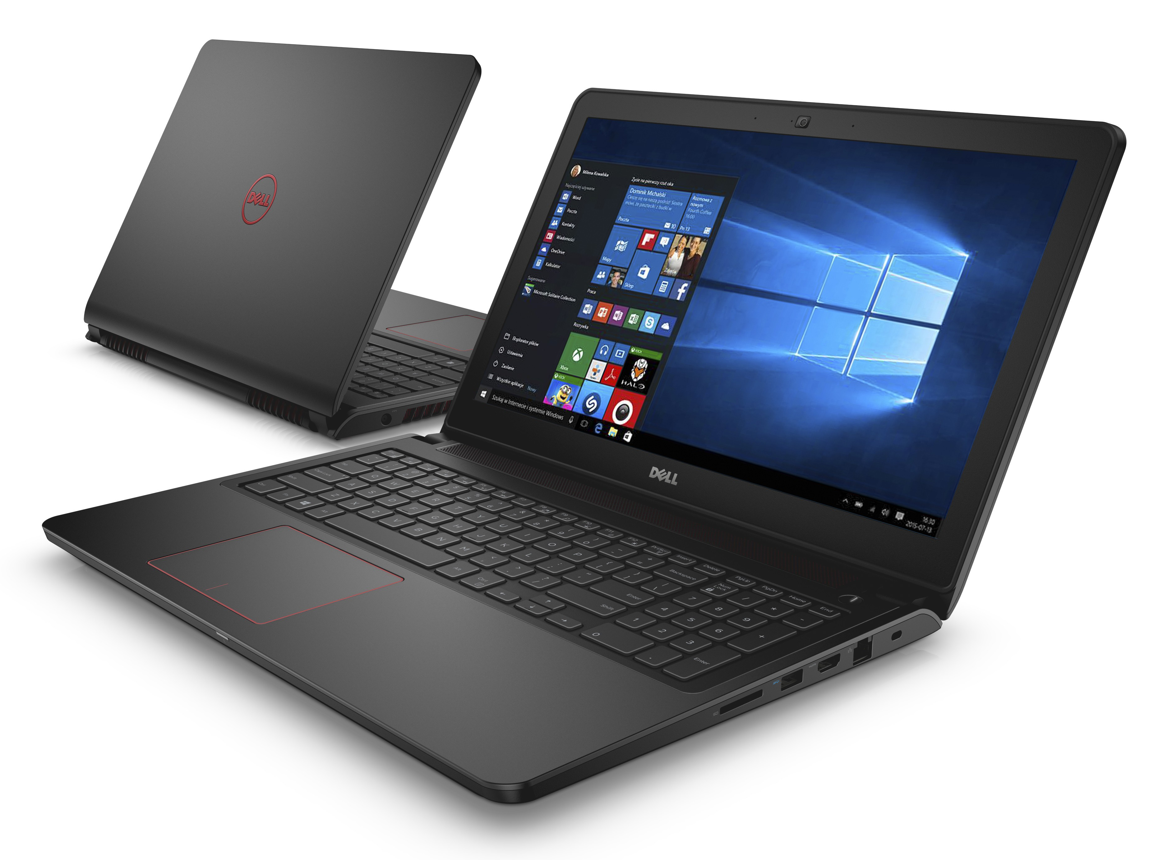 "Dell Inspiron 7559 Intel Core i5-6300HQ, 4GB RAM, 1TB HDD, 15.6""FHD, 4GB GeForce GTX 960M, Win10 Home OS Recovery USB,Black, 1Yr (F7559 - 70071890 )"
