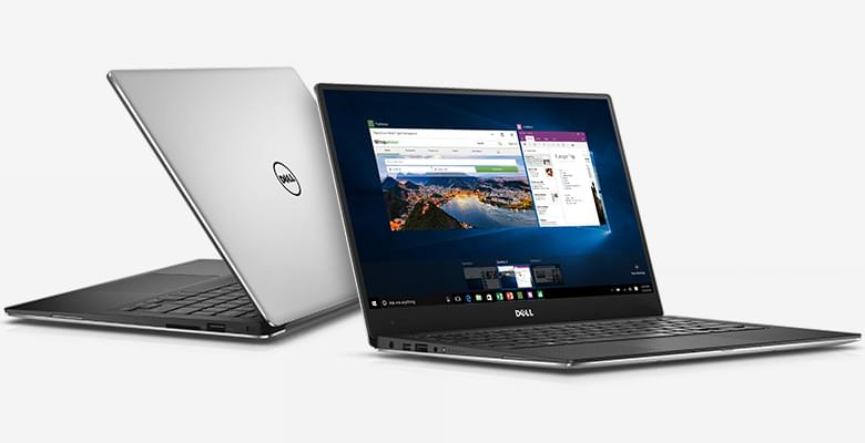 Dell XPS13 9350-6YJ601 (Silver) Core i7-6560U/8GB/256GSSD/13.3 QHD(2560 x 1440) IPS-Touch/Win10+Office/Silver_1YW_ProSp