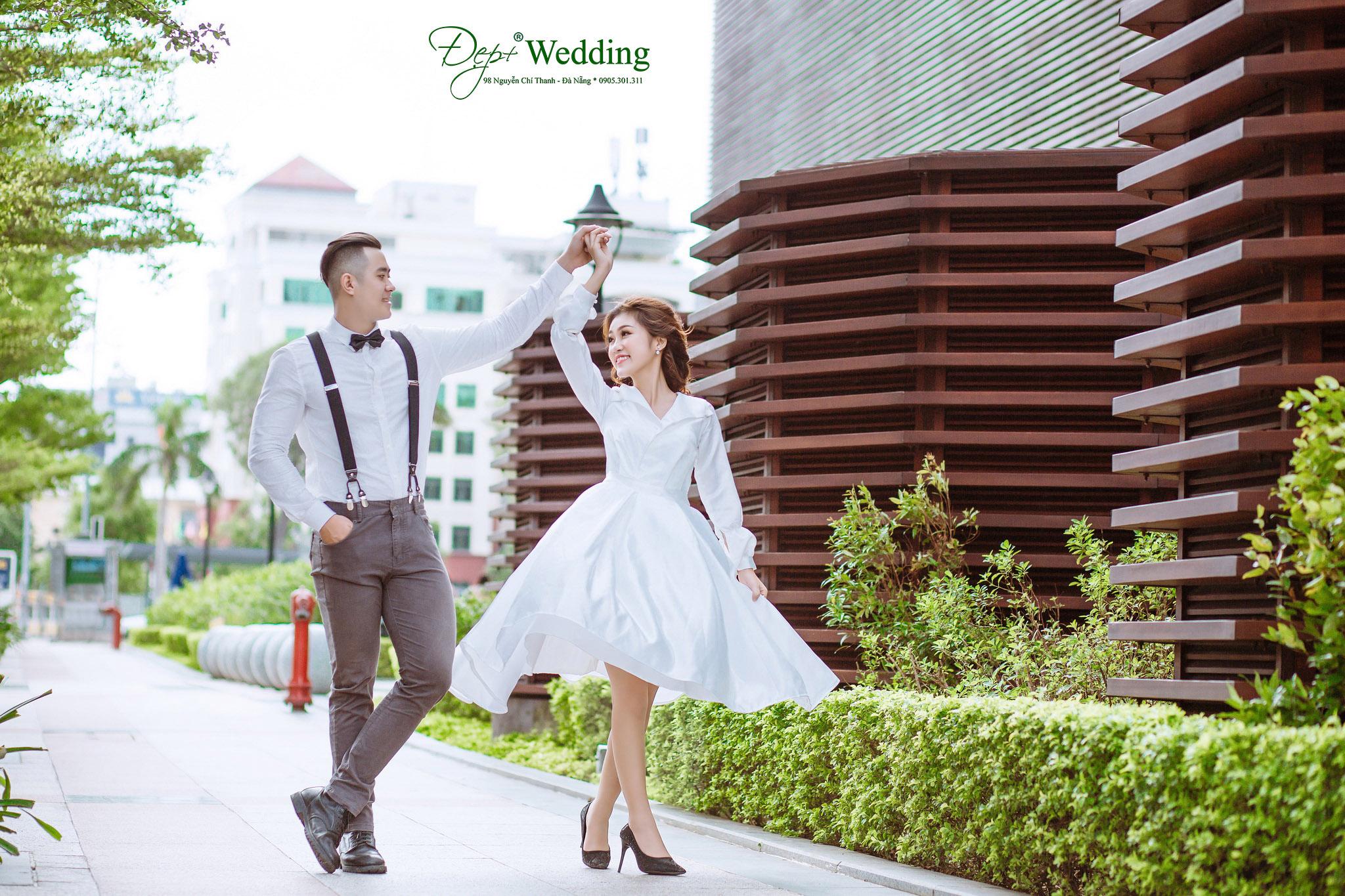 Váy cưới mới cô dâu