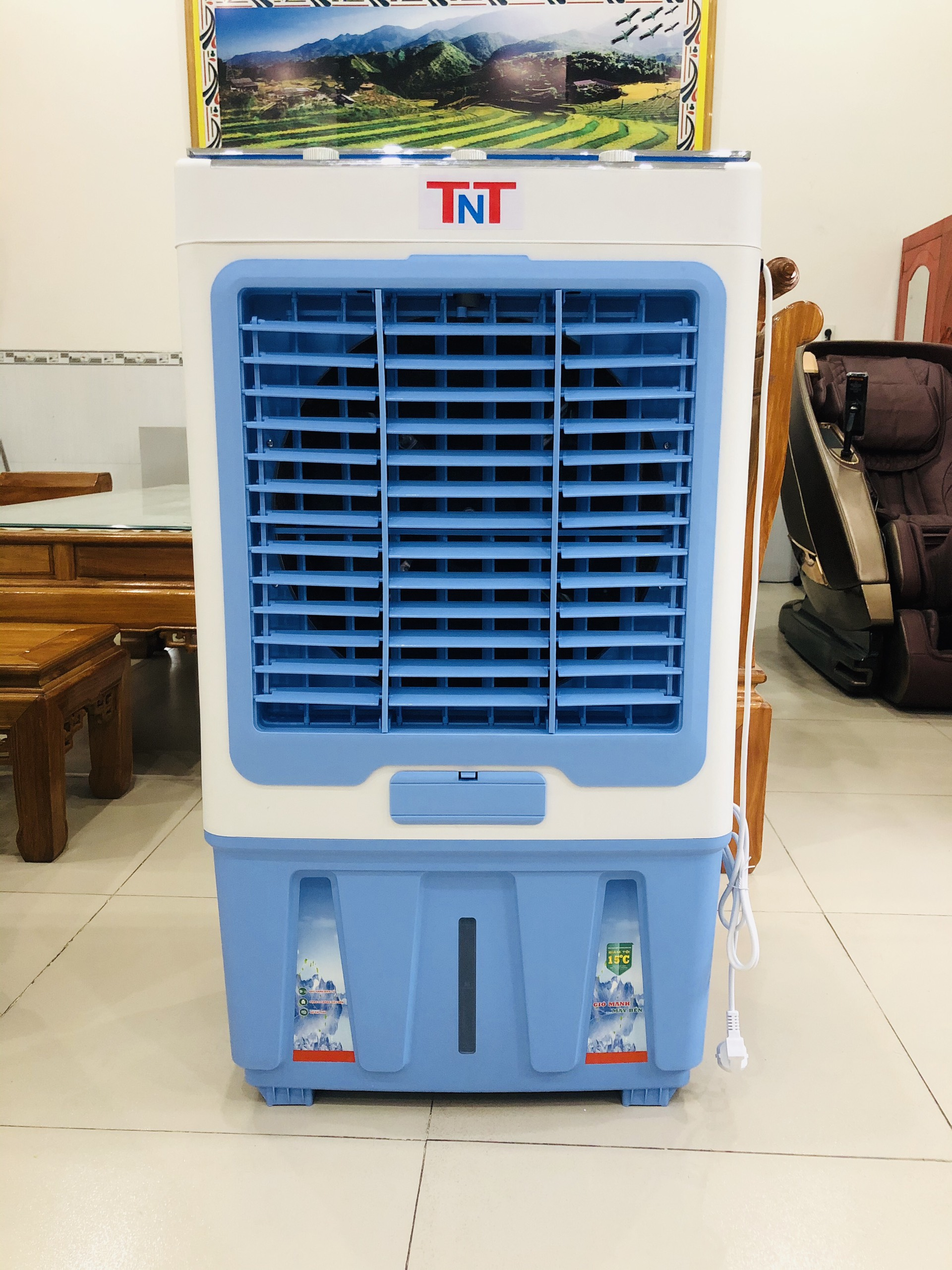 Máy Làm Mát TNT L60D ( Màu Xanh ) ( 60 Lít )
