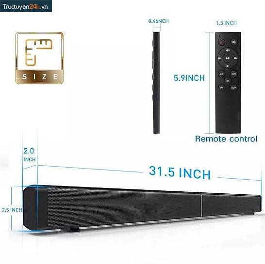 Loa Thanh Tivi Bluetooth Âm Thanh 3D Sound Bar LP-09