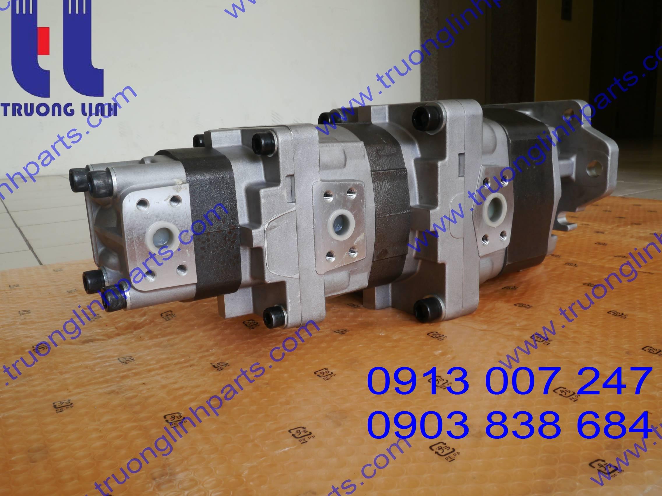 Hydraulic Gear Pump For Kawasaki Wheel Loader