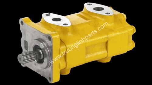 hydraulic pump komatsu, hydraulic gear  pump komatsu , steering pumpxe Wheel Loader , bơm nâng hạ xe Wheel Loader , CHARGE PUMP xe Wheel Loader