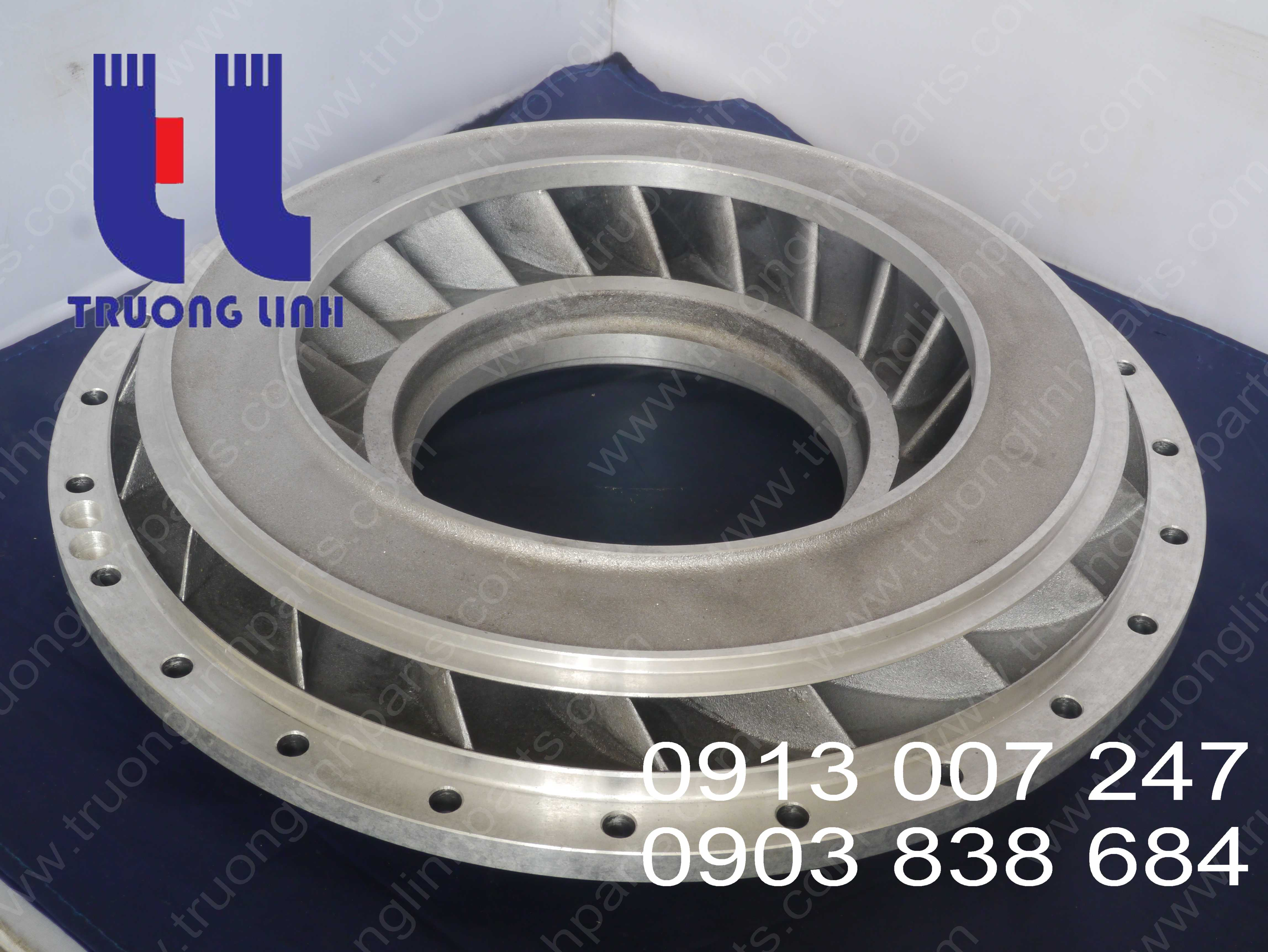 Torque Converter Parts For Komatsu Wheel Loader WA350-3