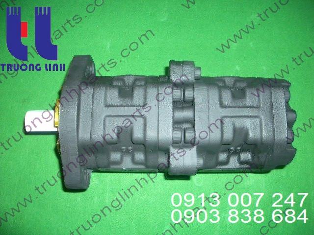 Bơm thủy lực được ứng dụng trong các loại máy xúc, máy đào, máy nâng, máy cẩu, ôtô,....