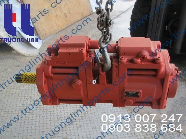 Bơm thủy lực là một thiết bị sử dụng chuyển động quay từ động cơ hoặc motor điện để hút dầu thủy lực từ bồn chứa và đẩy chúng di chuyểntrong mạch thủy lực
