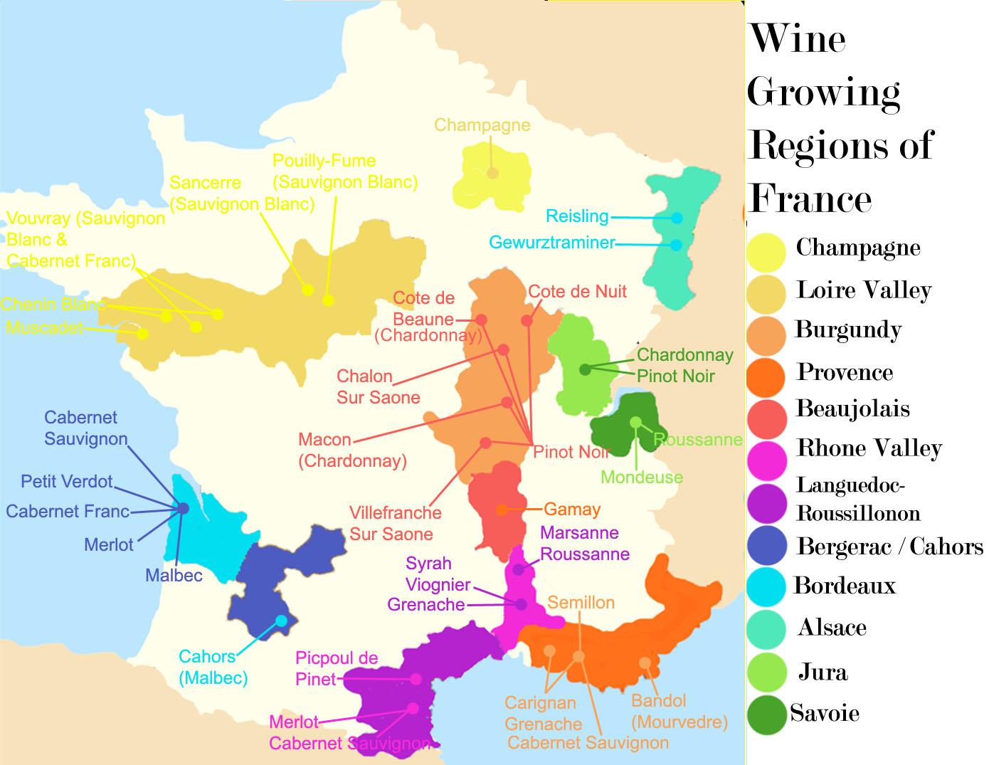 tìm hiểu rượu vang Pháp