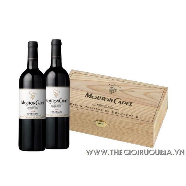 Rượu Vang Mouton Cadet