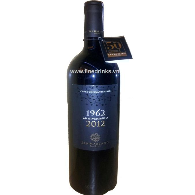 Anniversario Vino Rosso d'Italia 1962-2012