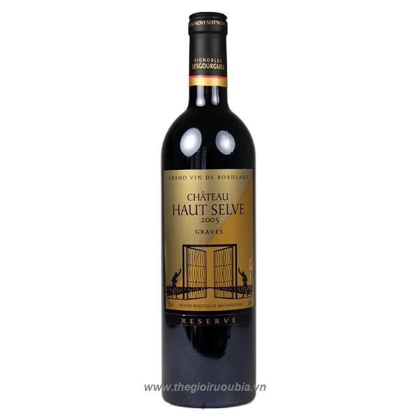 Rượu Vang Chateau Haut Selve