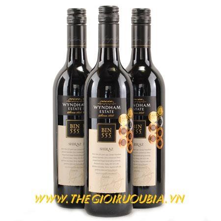 Rượu Vang Bin 555