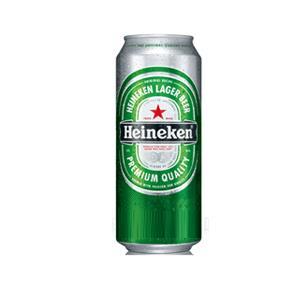 Bia Heineken lon 500 ml Hà Lan