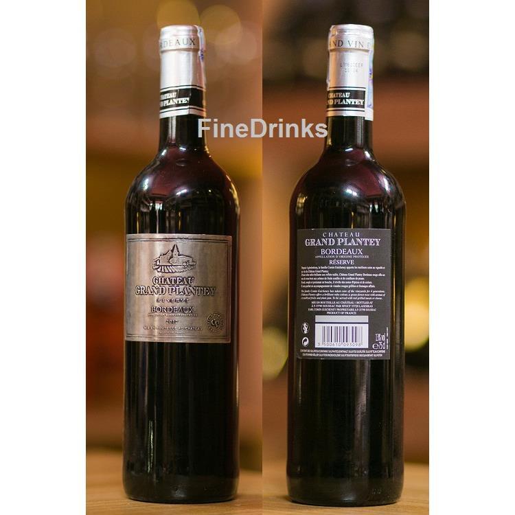 rượu vang Chateau Grand Plantey Reserva