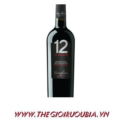 Rượu Vang 12 Mezzo Del Salento