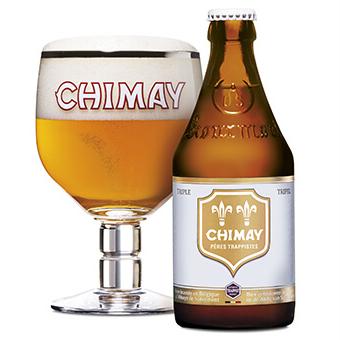 Bia Chimay Trắng 8% – Chai 330ml – Thùng 24 Chai