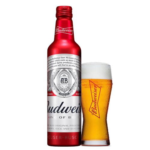 Bia Budweiser Chai Nhôm – 473ml – Thùng 24 Chai