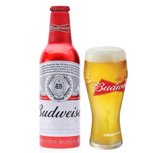 Bia Budweiser 5% – Chai nhôm 355ml – Thùng 24 Chai