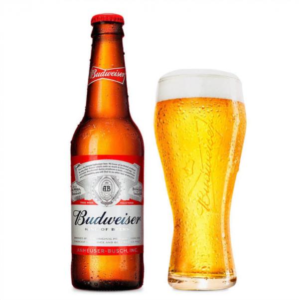Bia Budweiser 5% – Chai 330 ml – Thùng 24 Chai
