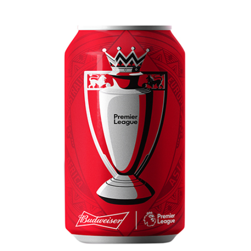 Bia Budweiser 5% – Lon 330ml – Thùng 24 Lon