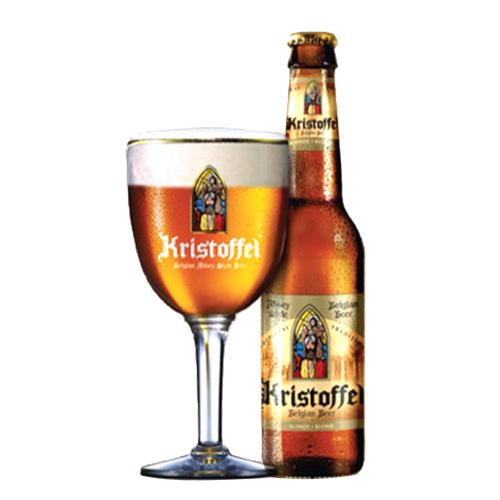 Bia Kristoffel Blond 6% – Chai 330ml