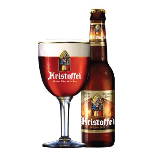 Bia Kristoffel Brune 6% – Chai 330ml