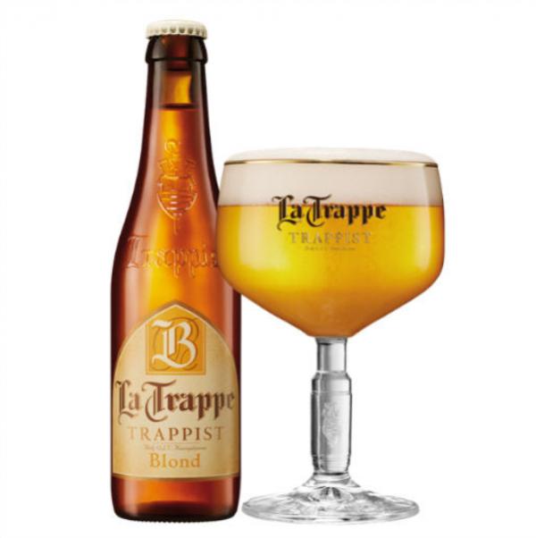 Bia La Trappe Blond 6,5% – Chai 330ml – Thùng 24 Chai