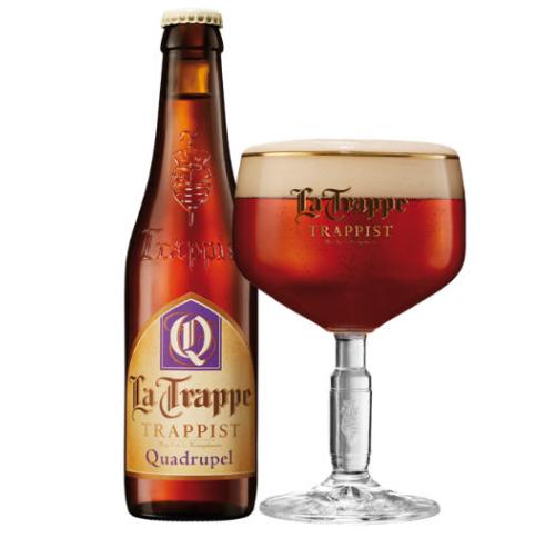 Bia La Trappe Quadrupel 10% – Chai 330ml – Thùng 24 Chai